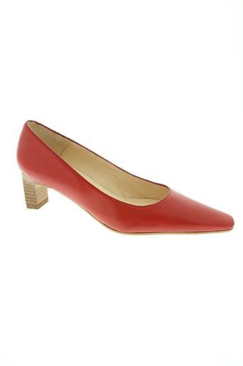 paco herrero chaussures femme de couleur rouge