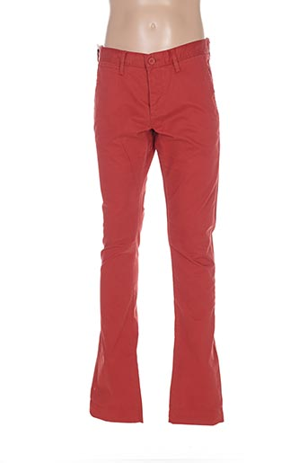 Pantalon casual rouge TEDDY SMITH pour garçon