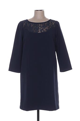 Robe courte bleu DEUX TWO pour femme