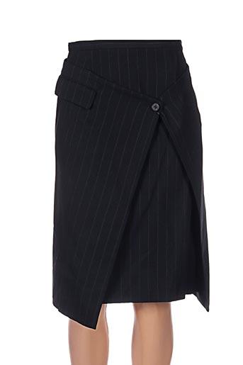 Jupe mi-longue noir ATSURO TAYAMA pour femme