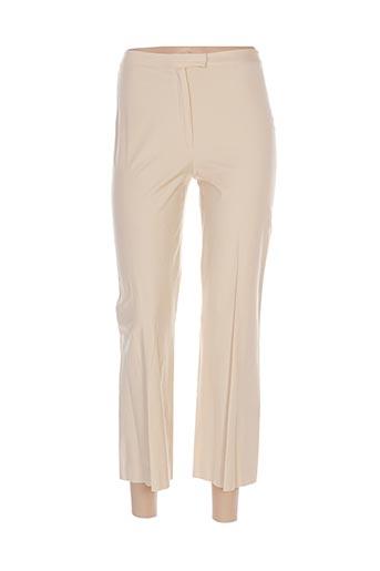Pantalon 7/8 beige GUNEX pour femme