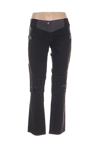 Pantalon 7/8 marron ICONOCLAST pour femme