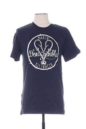 T-shirt manches courtes bleu KILIWATCH pour homme