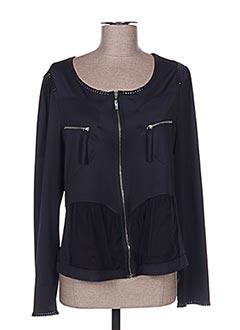 Veste casual noir GARELLA pour femme