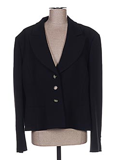 Veste chic / Blazer noir CLAIRE pour femme