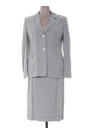 Veste/jupe gris CLAIRE pour femme