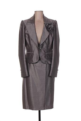 Veste/jupe gris INFINITIF pour femme