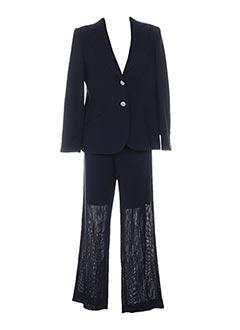 Veste/pantalon bleu CLAIRE pour femme