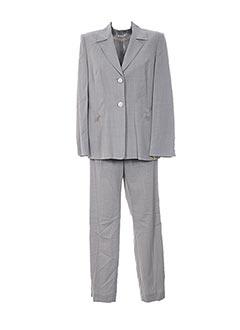 Veste/pantalon gris CLAIRE pour femme