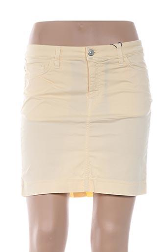 Jupe courte jaune GANT pour femme
