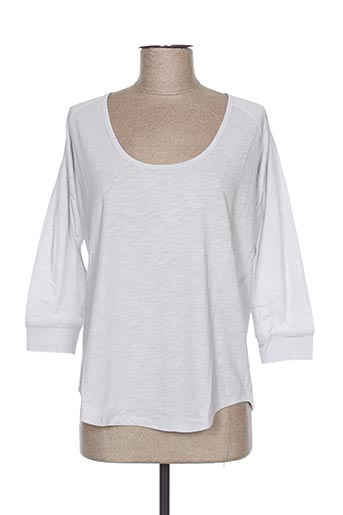T-shirt manches longues gris AMERICAN OUTFITTERS pour femme