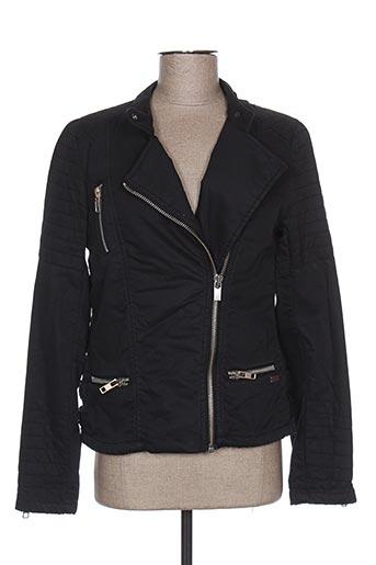 Veste casual noir MAISON SCOTCH pour femme