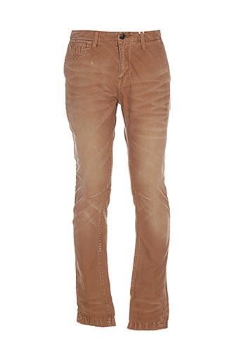 Pantalon casual marron SCOTCH & SODA pour homme