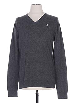 Pull col V gris GAASTRA pour homme