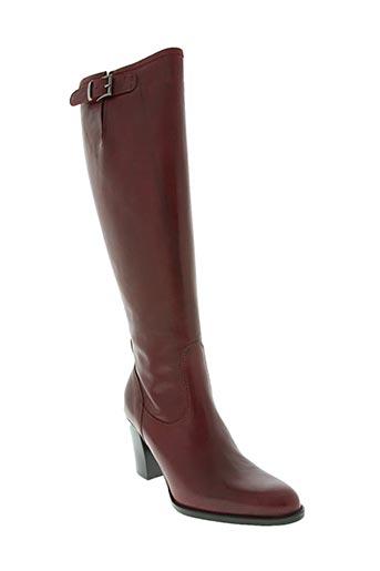 morena gabbrielli chaussures femme de couleur rouge
