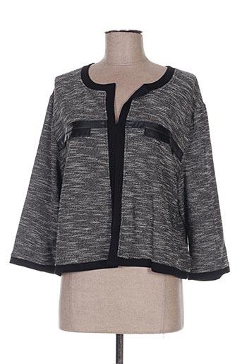 Veste casual noir WEINBERG pour femme