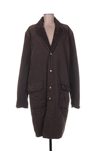 Manteau long marron CHEYENNE pour femme