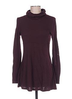 Sous-pull violet AEM'KEI pour femme