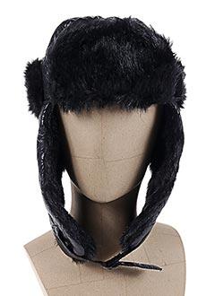 Chapeau noir TEDDY SMITH pour femme