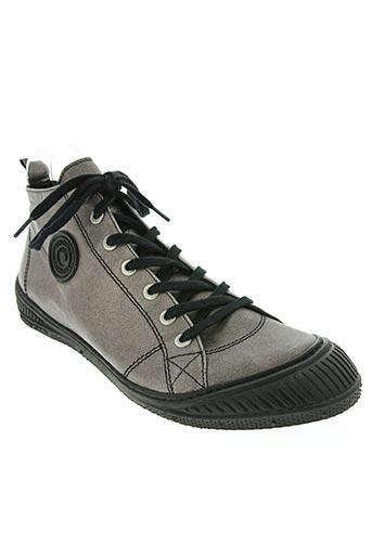pataugas chaussures unisexe de couleur gris
