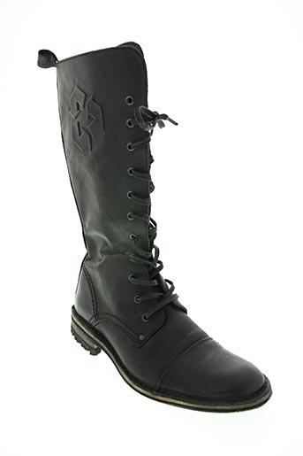 u roads chaussures femme de couleur noir