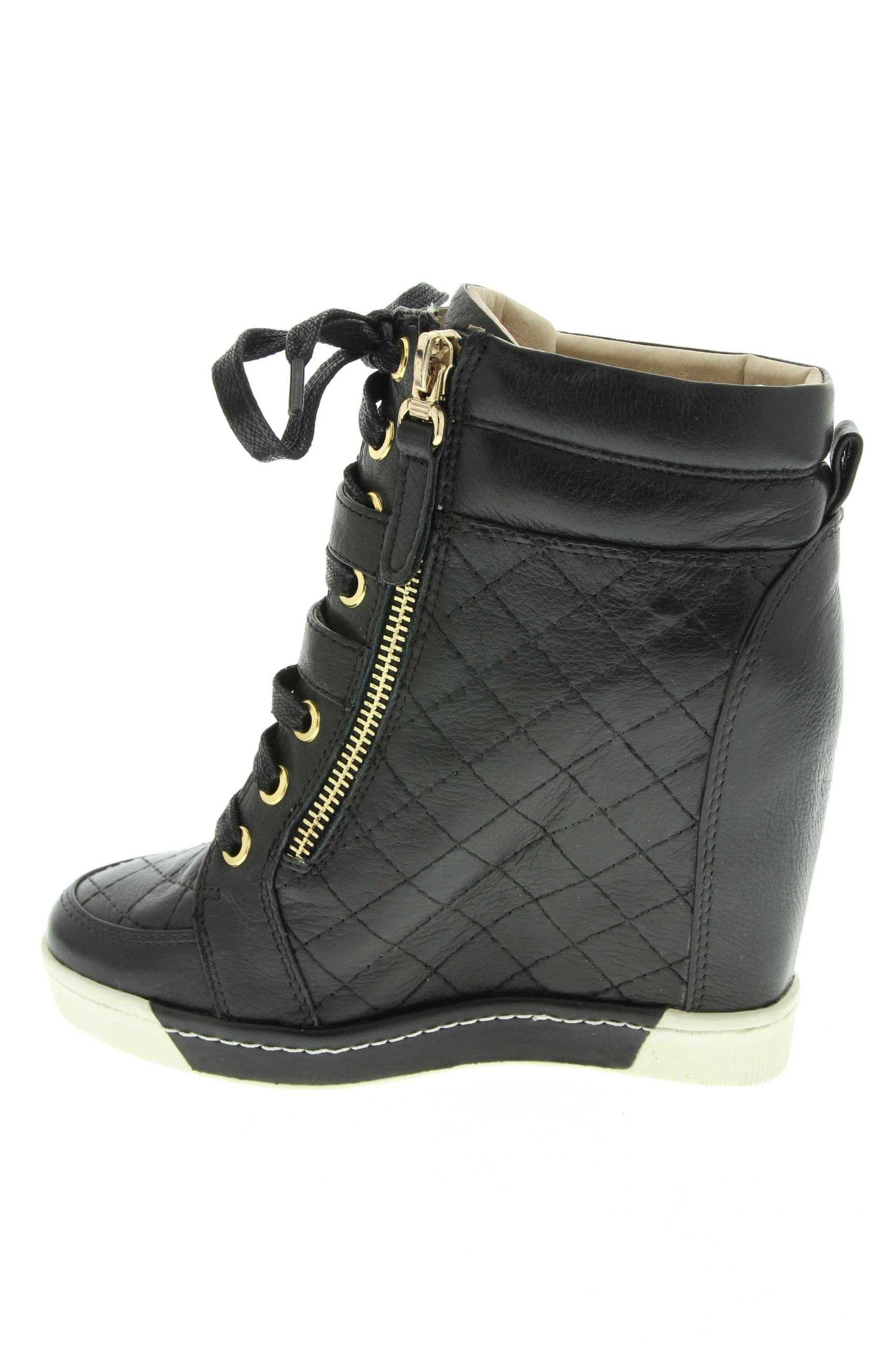 Starfly Baskets Femme De Couleur Noir En Soldes Pas Cher 1308487-noir00