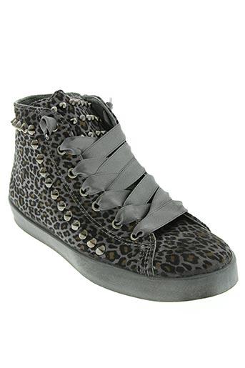 beverly hills polo club chaussures femme de couleur gris