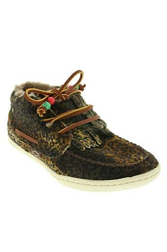 dolfie chaussures femme de couleur marron