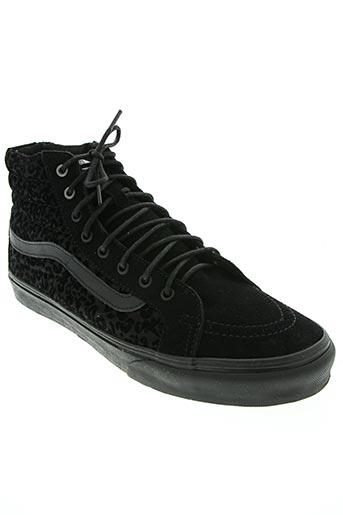 vans chaussures homme de couleur noir