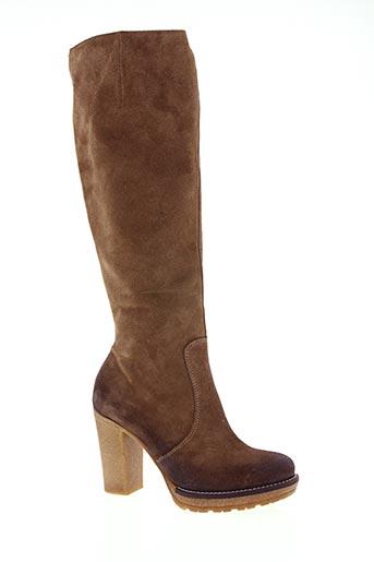 paprika chaussures femme de couleur marron