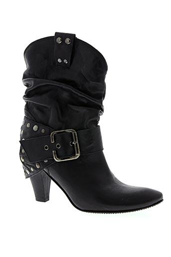 a&m chaussures femme de couleur noir