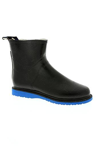 ilse jacobsen chaussures homme de couleur noir