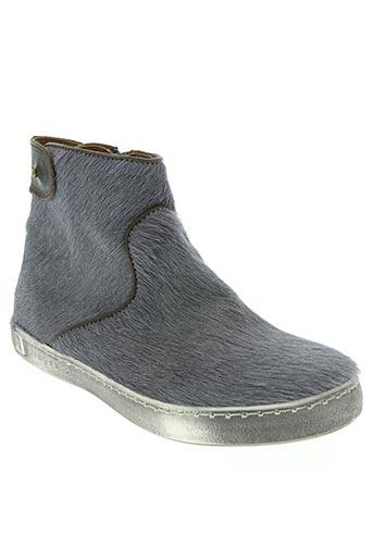 bisgaard chaussures femme de couleur gris
