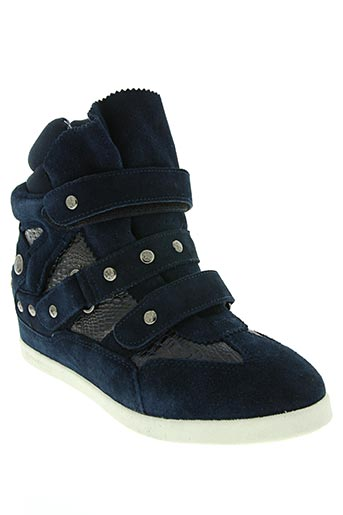 starfly chaussures femme de couleur bleu