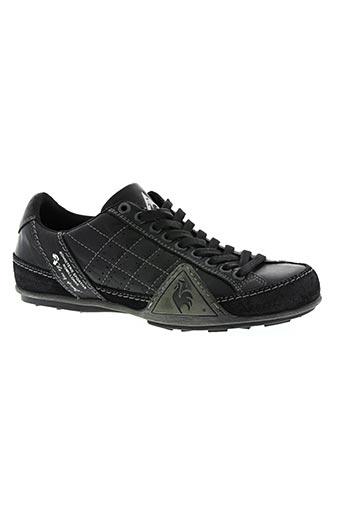 le coq sportif chaussures homme de couleur noir