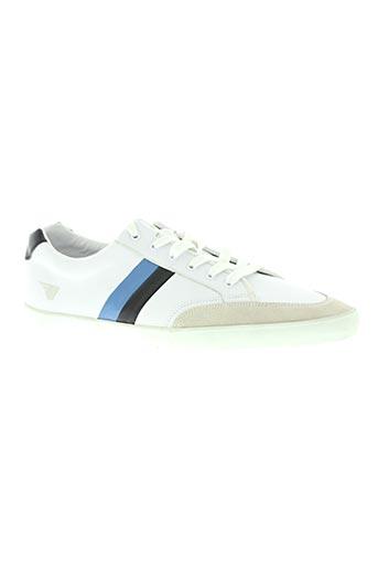gola chaussures homme de couleur blanc