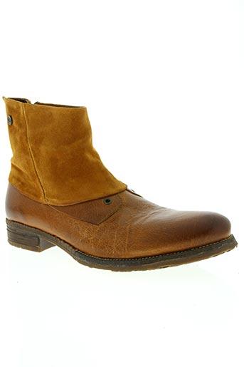 coque terra chaussures homme de couleur marron