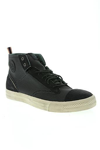 diesel chaussures homme de couleur noir