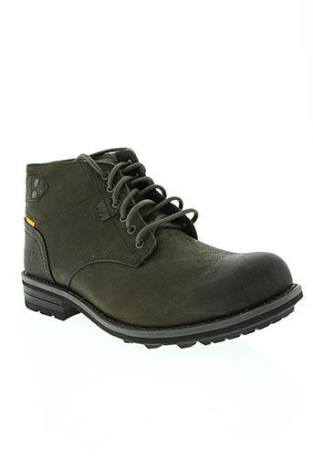 cat chaussures homme de couleur gris