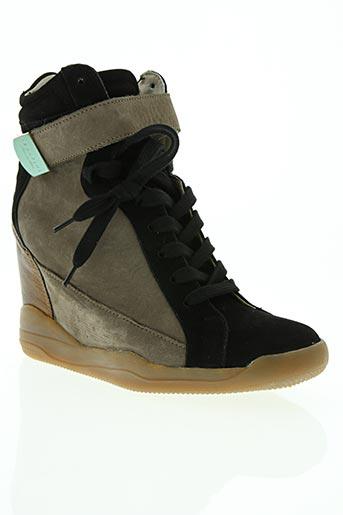 serafini chaussures femme de couleur marron