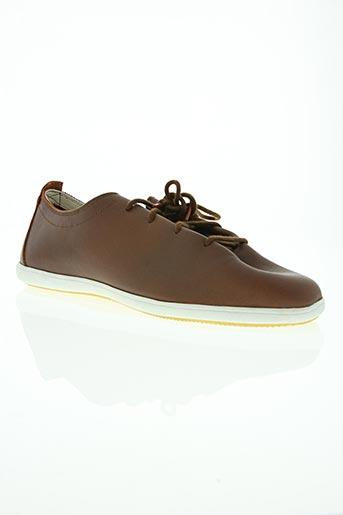 lafeyt chaussures homme de couleur marron