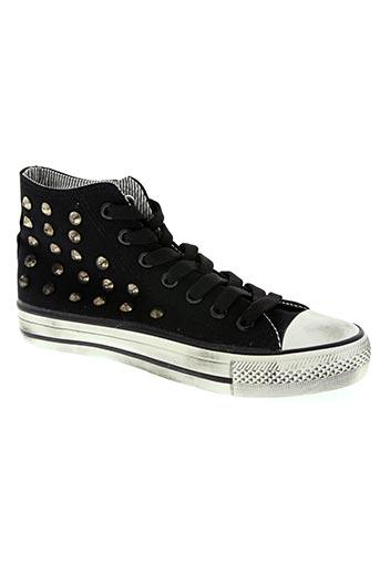 star chaussures homme de couleur noir