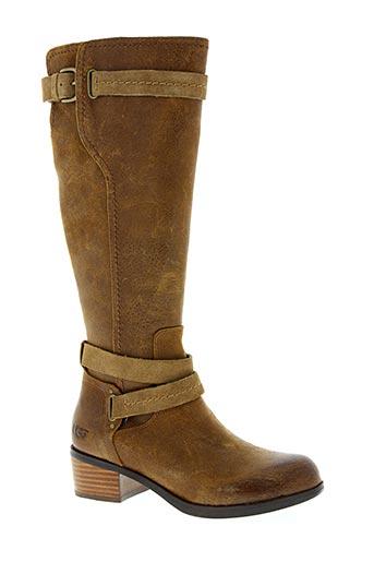 ugg chaussures femme de couleur marron
