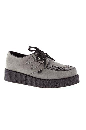 underground chaussures homme de couleur gris