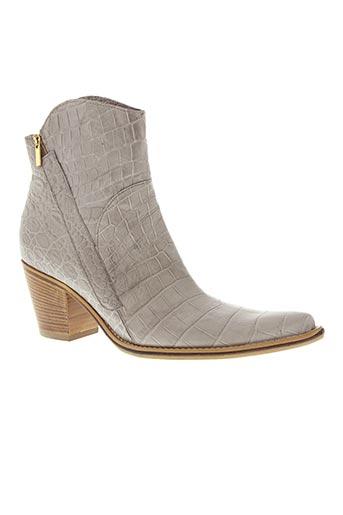 paprika chaussures femme de couleur gris