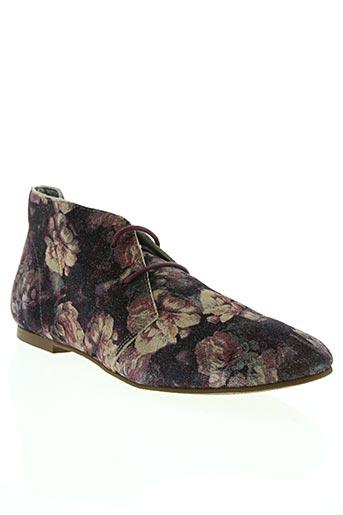 ippon vintage chaussures femme de couleur violet
