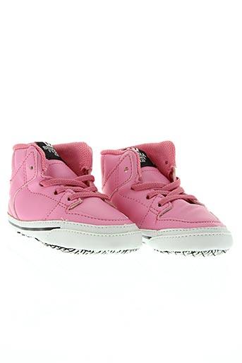 supra chaussures fille de couleur rose