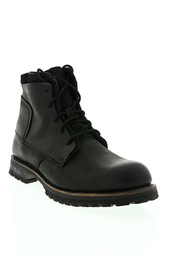 cat chaussures homme de couleur noir