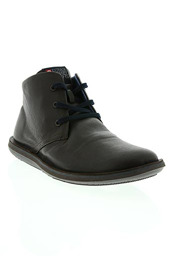 camper chaussures homme de couleur marron