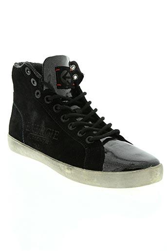 energie chaussures unisexe de couleur noir